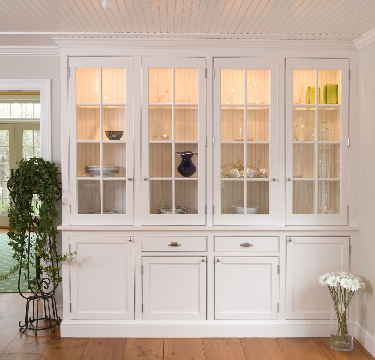 Custom Made White Cape Kitchen Dining Room Cabinet Dining Room Storage Dining Room Spaces