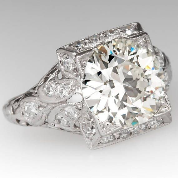 1 Ct Radiant Channeled Baguettes & Band Top Russian Aaaaa Quality Cz 7 Other Fine Rings