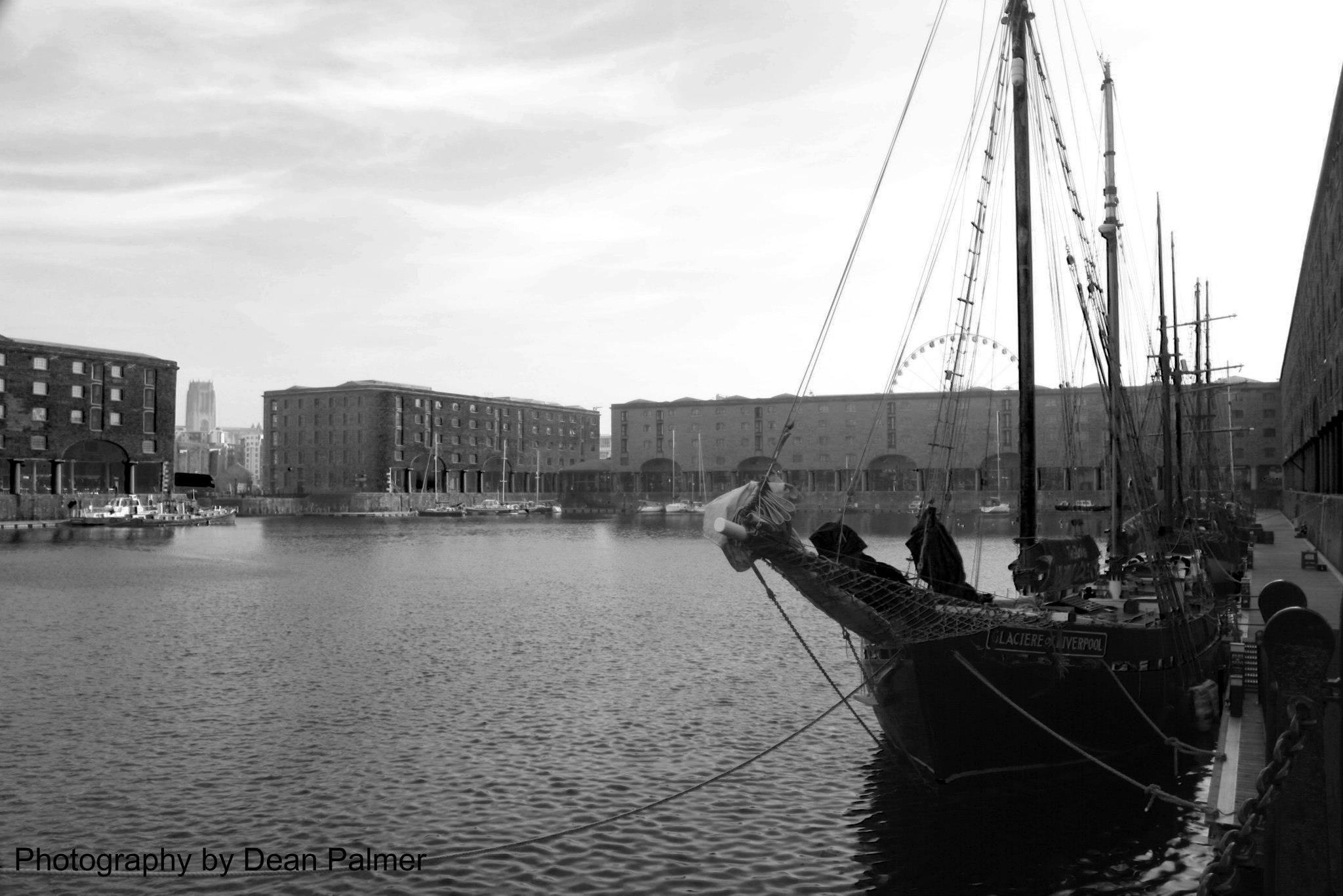 Ship on the Albert Dock