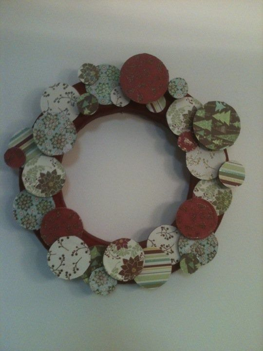 Adult Christmas Craft Ideas Part - 46: Winter+Craft+Ideas+for+Adults | Winter Wreath | Craft Ideas