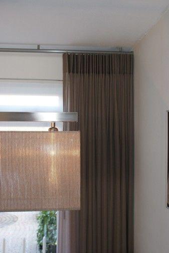 Vitrage en inbetween gordijnen | gordijnen | Pinterest | Curtain ...
