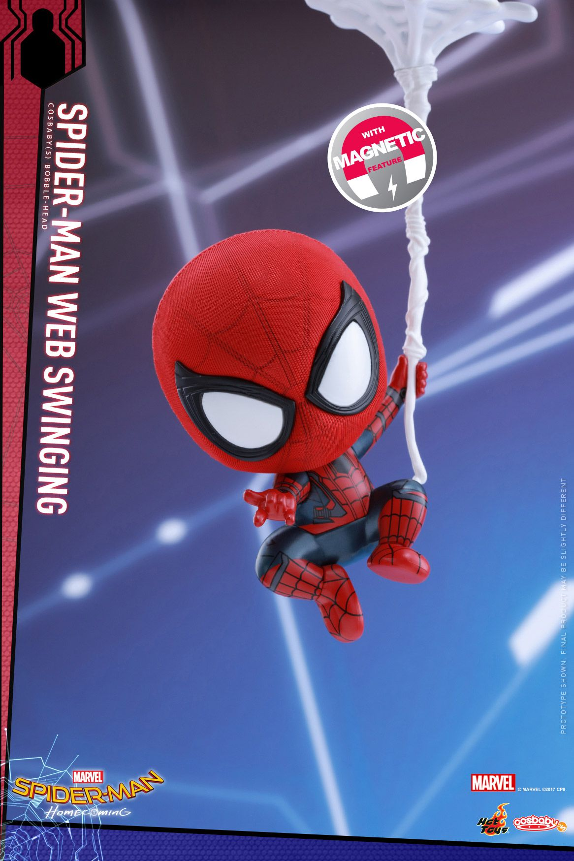 Hot Toys Has Revealed Their Spider Man Homecoming Cosbaby Figures, Including