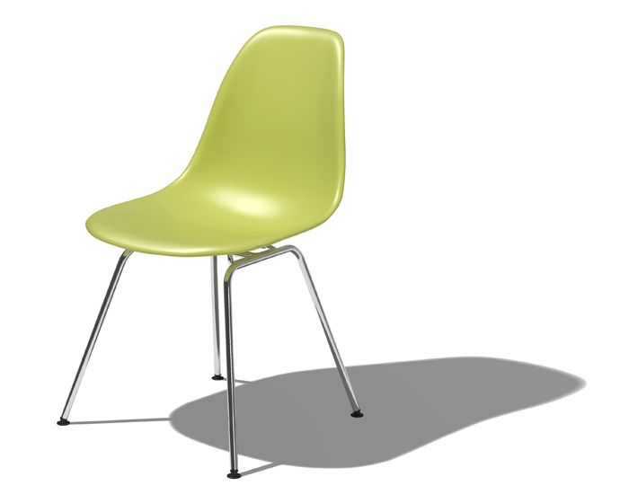 Herman Miller Eames Molded Plastic Chair Shell Side Chair