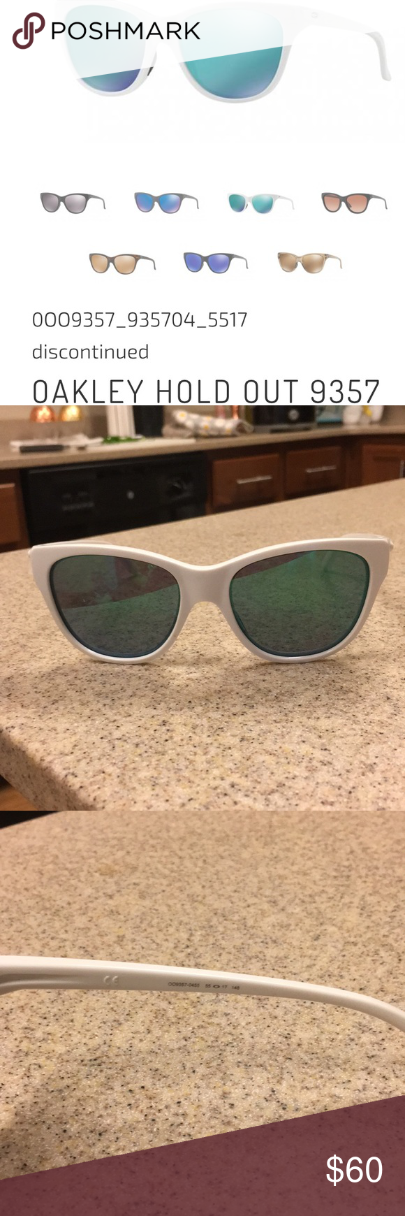 ec9bcaacbc Never worn OAKLEY HOLDOUT authentic sunglasses Brand new