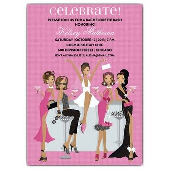 Throwing A Bachelorette Party Check Out These Invitation Wording Ideas Courtesy Of Paper Style Shop For The Invitations Too