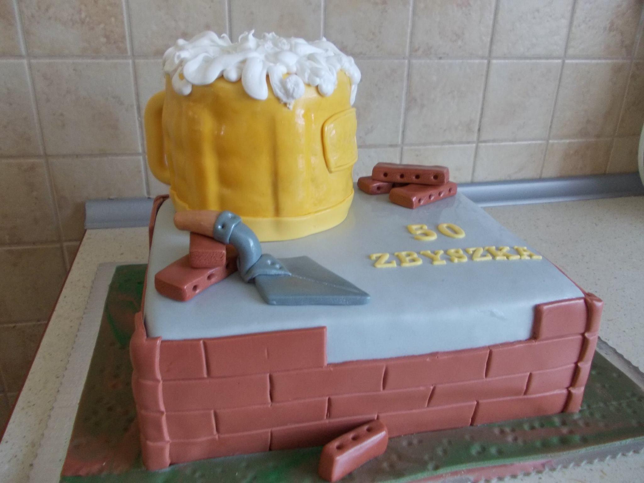 A birthday cake made by me torty urodzinowe tort