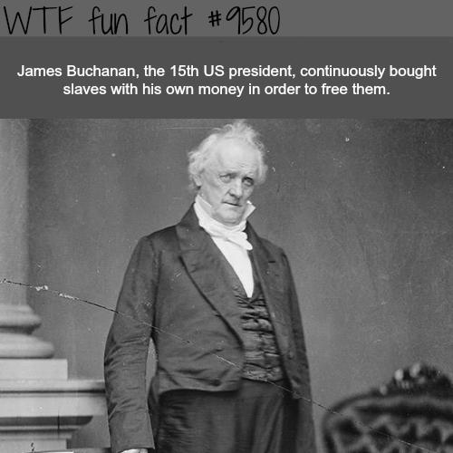 James Buchanan – WTF fun fact – Top Best Celebrity Blogs #history