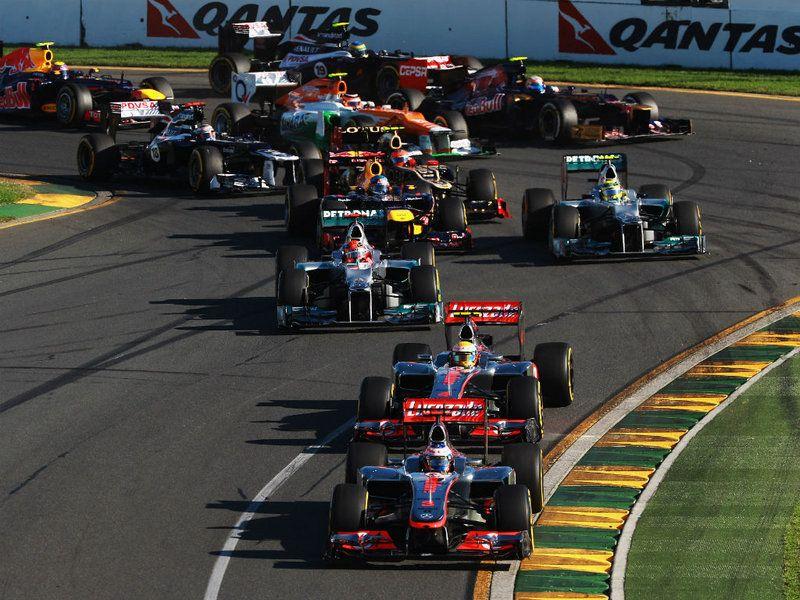 Formula 1 Australian GP Race Australian grand prix