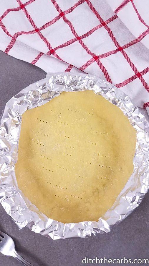 Low-Carb Coconut Flour Pie Crust