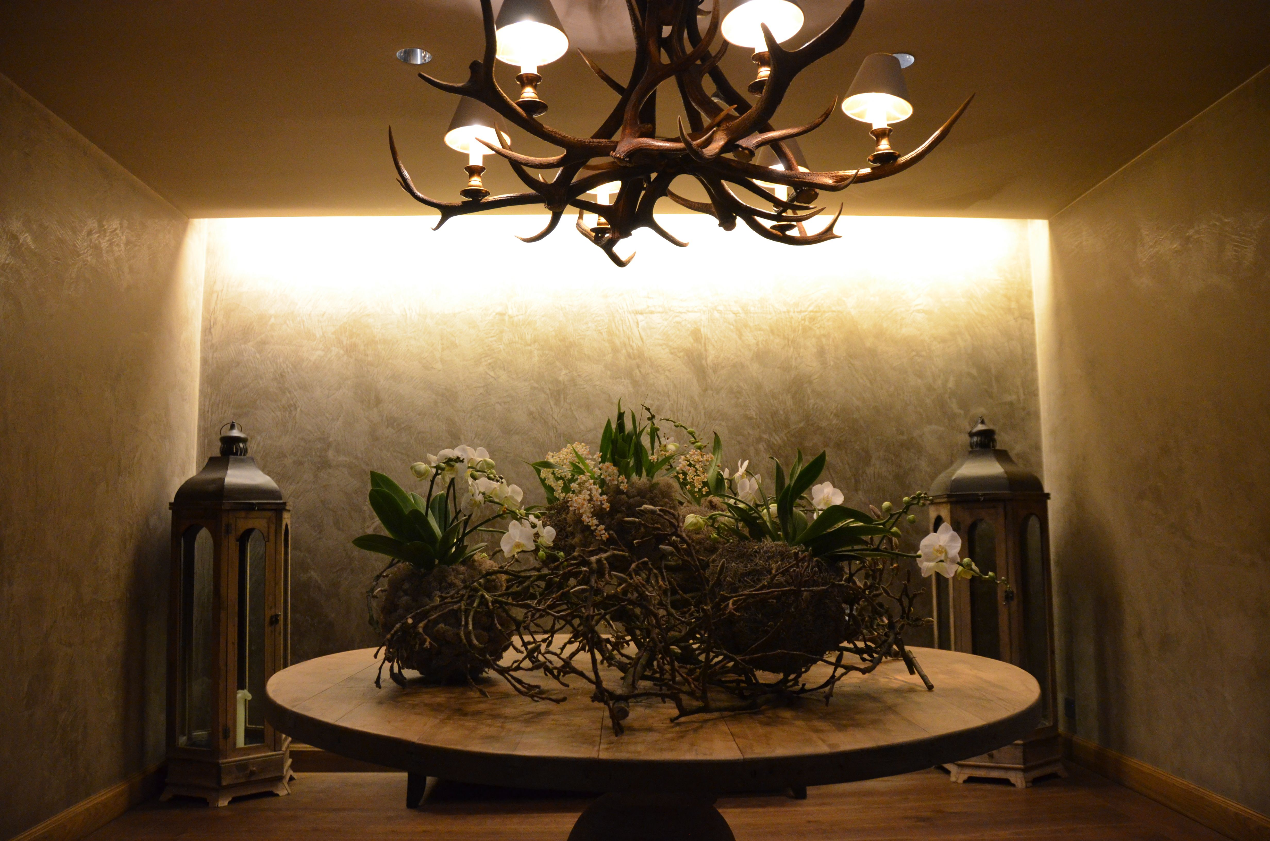 Decoration at our Palace Spa   Floristry at the Gstaad Palace ...