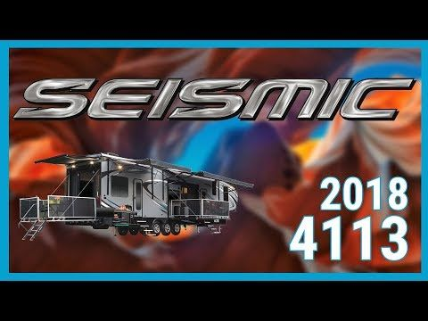 2018 Jayco Seismic 4212 5th Wheel Toy Hauler Rv For Sale All
