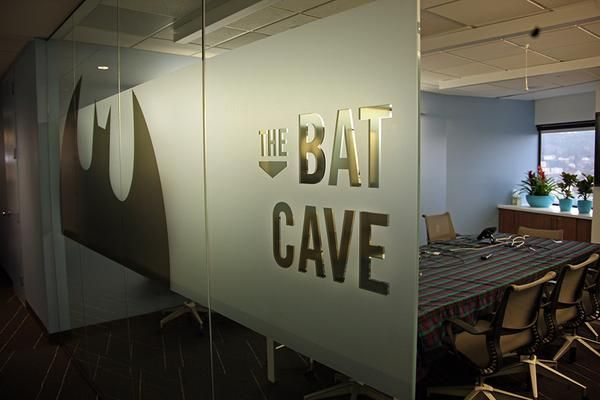 Cool Spaces: Comic-themed meeting rooms at New Relic Inc. | The o ...