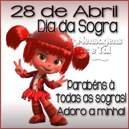 Data - 28 de Abril Dia da Sogra