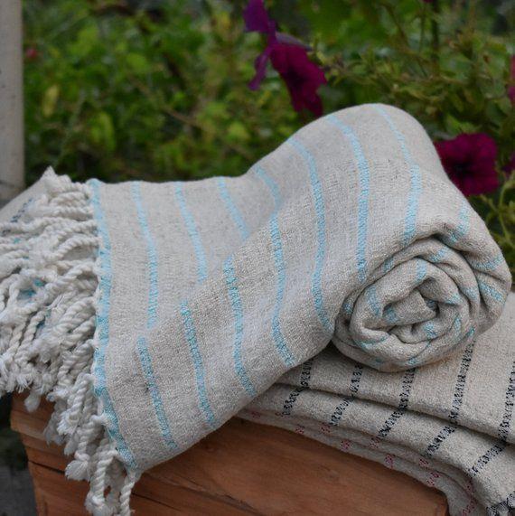 Turkish Towel Turkish Organic Peshtemal Organic Towel 35x65