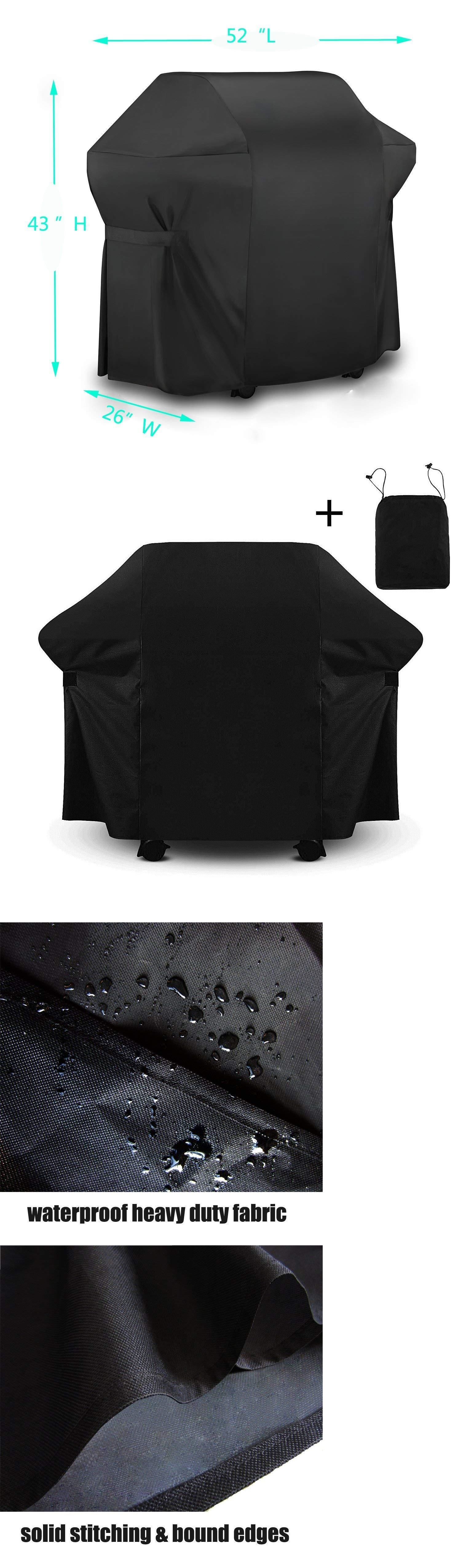 Barbecue And Grill Covers 79686 52 Waterproof 7106 Barbecue Gas Grill Cover For Weber Spirit 200 And 300 Series Buy It Gas Grill Covers Gas Bbq Grill Cover