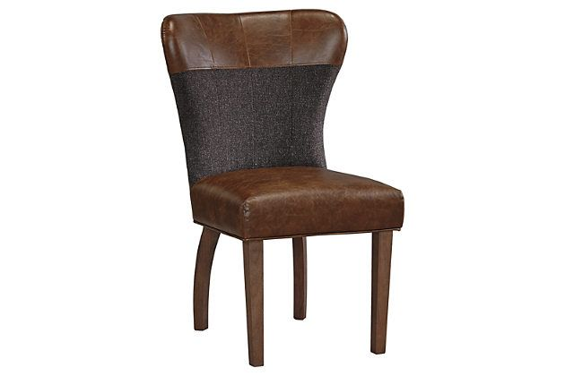 Brown Zenfield Dining Room Chair Set Of 2 By Ashley Home