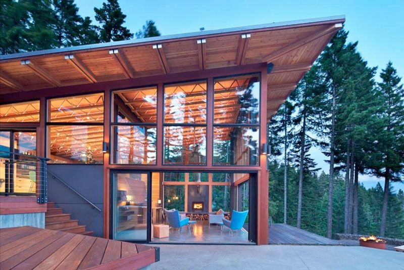 Base Camp   Johnston Architects   Lake Cle Elum, Washington State