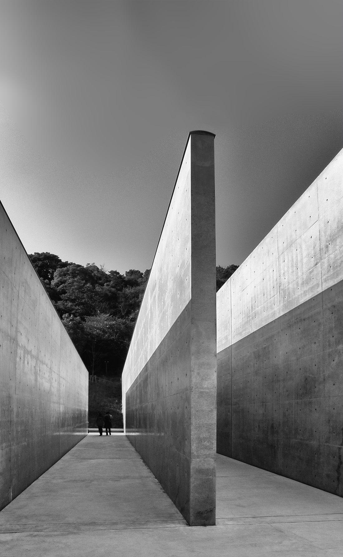 Wmud tadao ando lee u fan museum naoshima for Minimalismus architektur