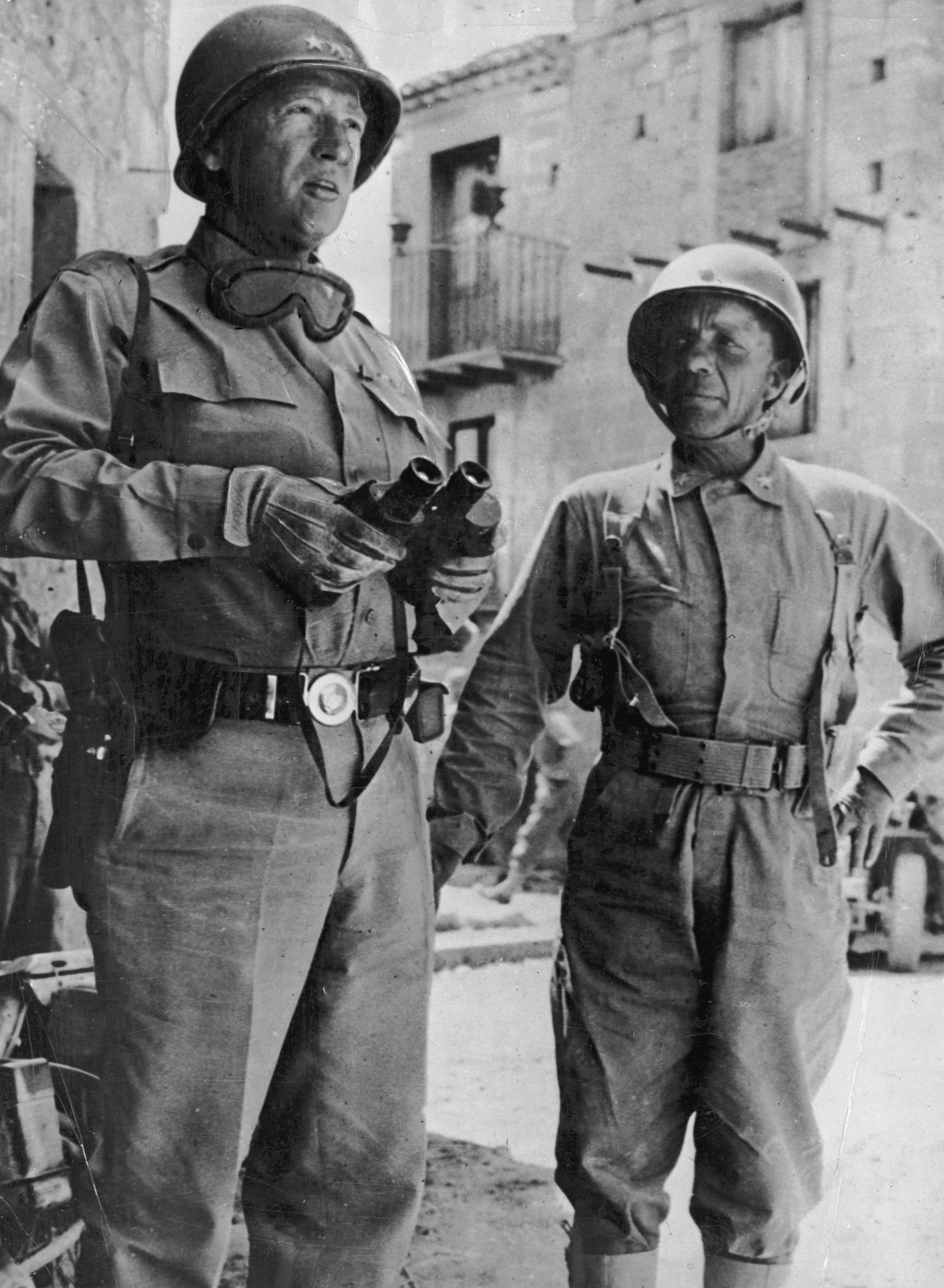 Gen George S Patton With Istant