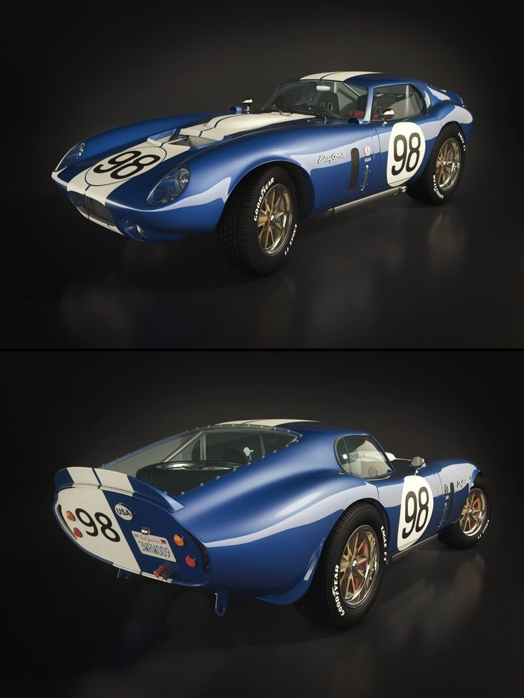 Shelby Daytona Coupe Designed To Beat The Ferrari 250 Gto In The