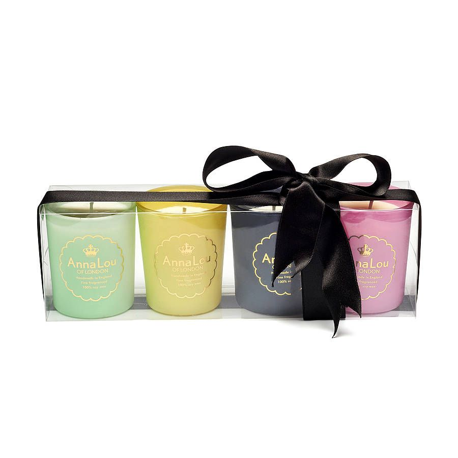 Luxury Scented Candle Gift Set By Anna Lou Of London Notonthehighstreet