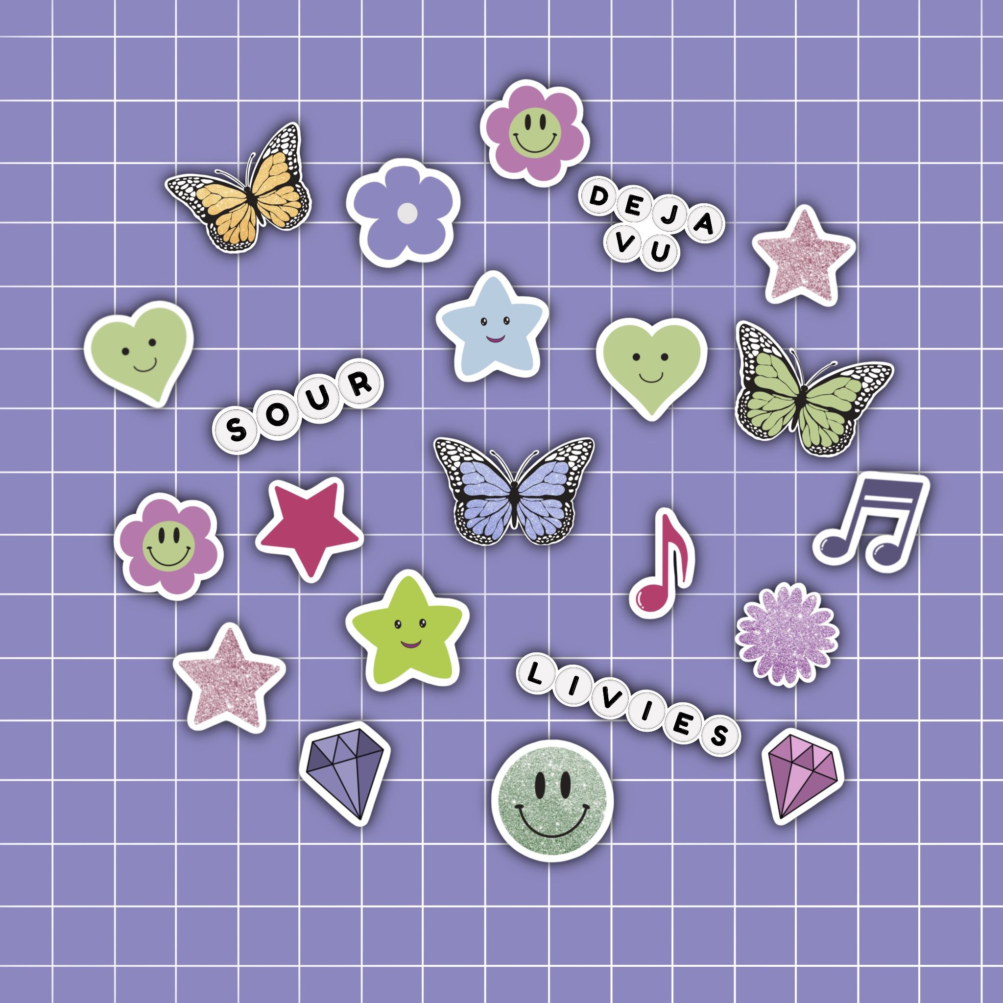 A Small Sticker ~ Queen Style 1