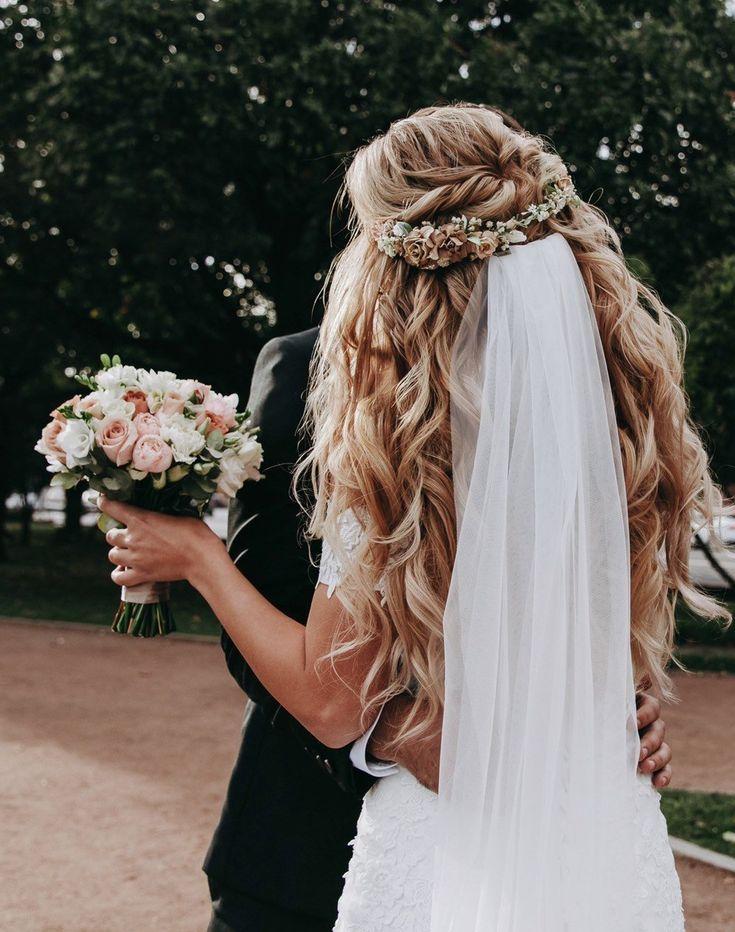 Blumenkrone, Hochzeitsblumenkrone, Blumenhaarteil #babyhairaccessories