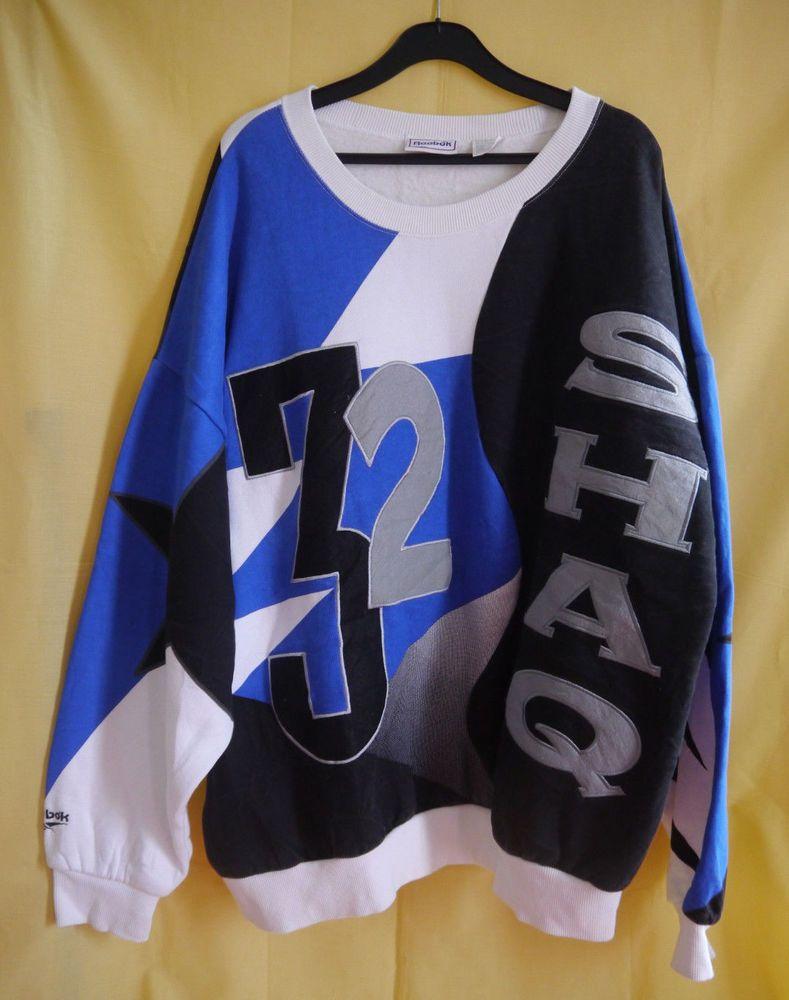 cab98d7460e vintage SHAQ 32 orlando magic SHAQUILLE O NEAL crew neck sweatshirt  Reebok   OrlandoMagic