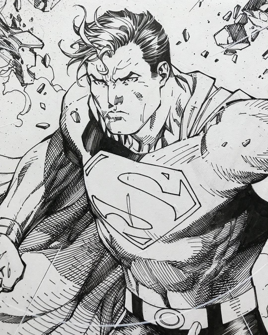 Sketch Justice League Sketch Superman Drawing – Superman digital wallpaper, batman v superman: