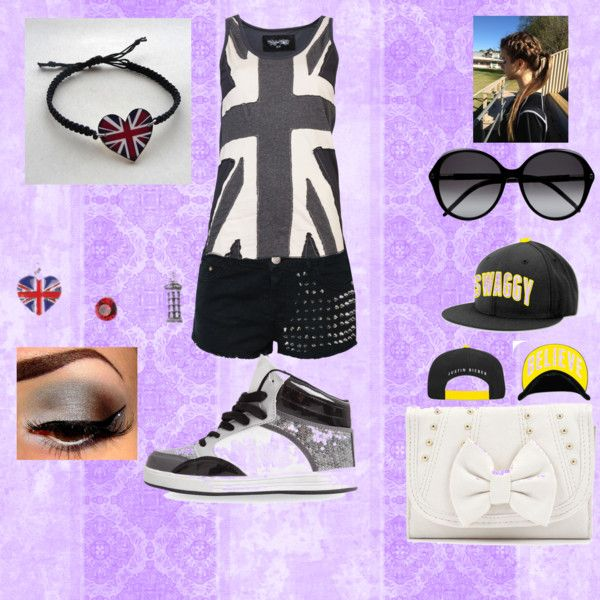 """British Swag...."" by blondeandbubbly on Polyvore"