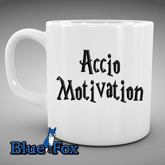 Funny Move line Coffee Mug,Geekery Mug,Accio motivation,funny Coffee Mug,HP Themed Mug,Magic spell Mug, ceramic Coffee Cup #etsystore