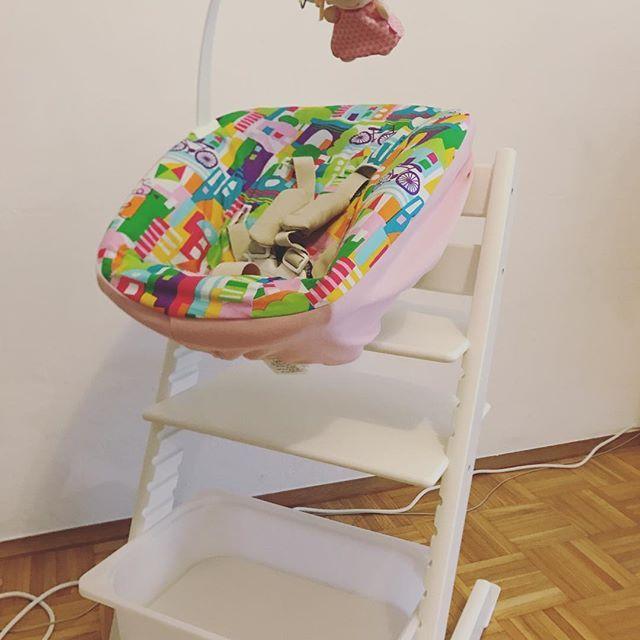 stokke tripp trapp hack ikea infant chair baby. Black Bedroom Furniture Sets. Home Design Ideas