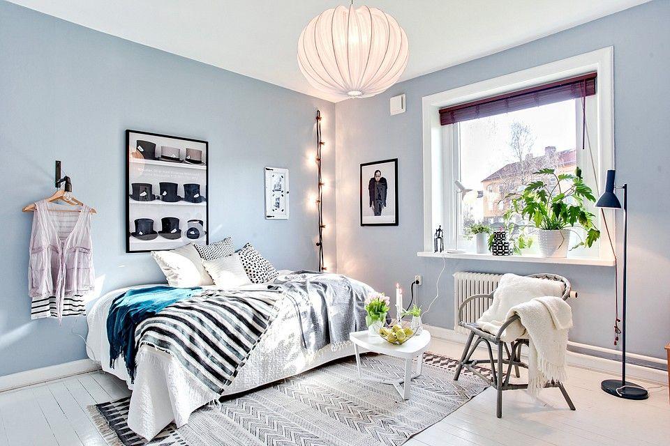 Chambre Bleue Pastel L A M A I S O N Pinterest Chambre