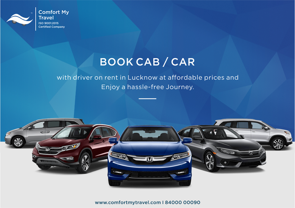 Book Cab in Lucknow If you need to travel to multiple places for shopping, meetings or leisure in L
