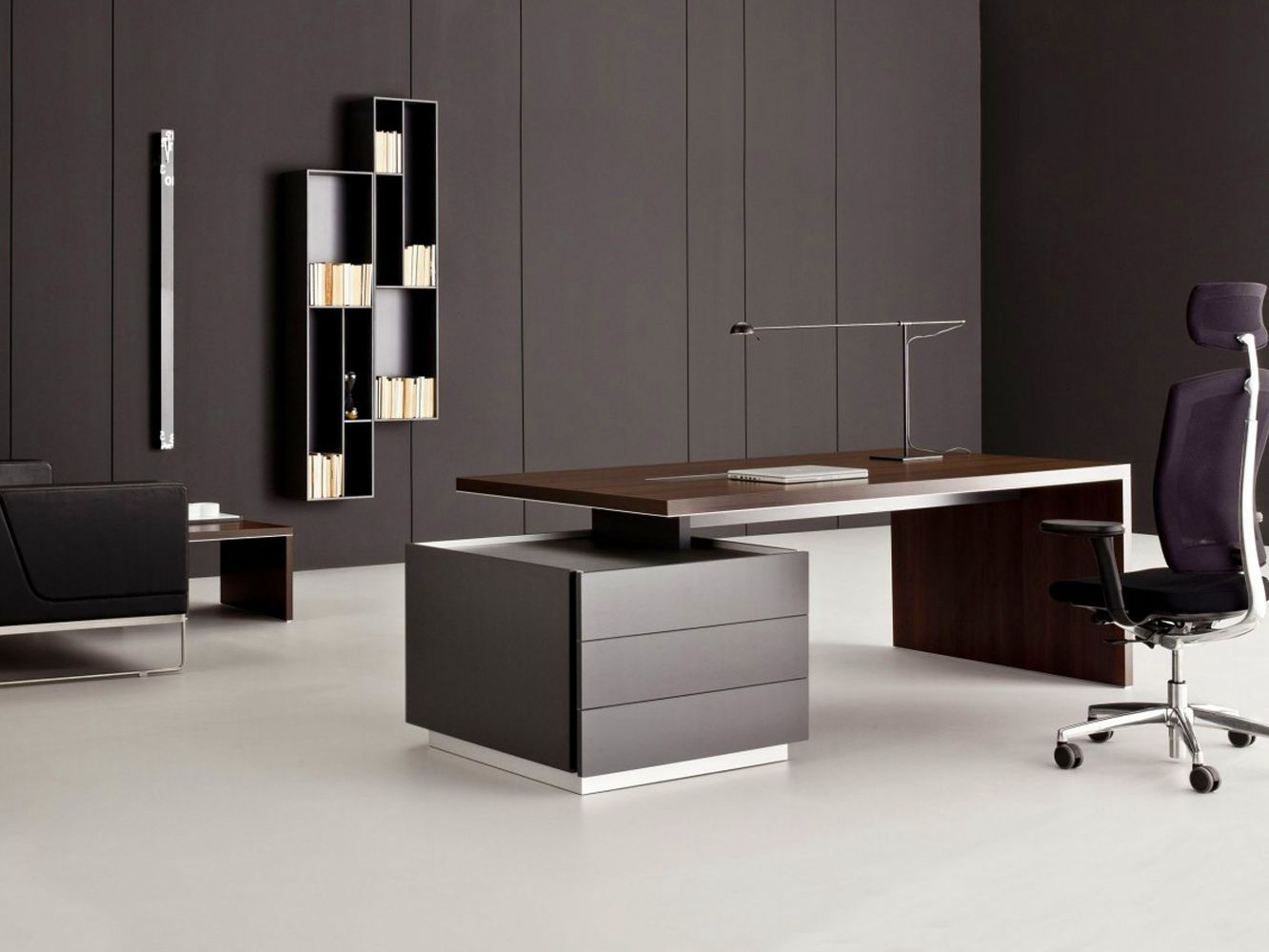 Modern Executive High End Office Furniture Ideas Wallpaper