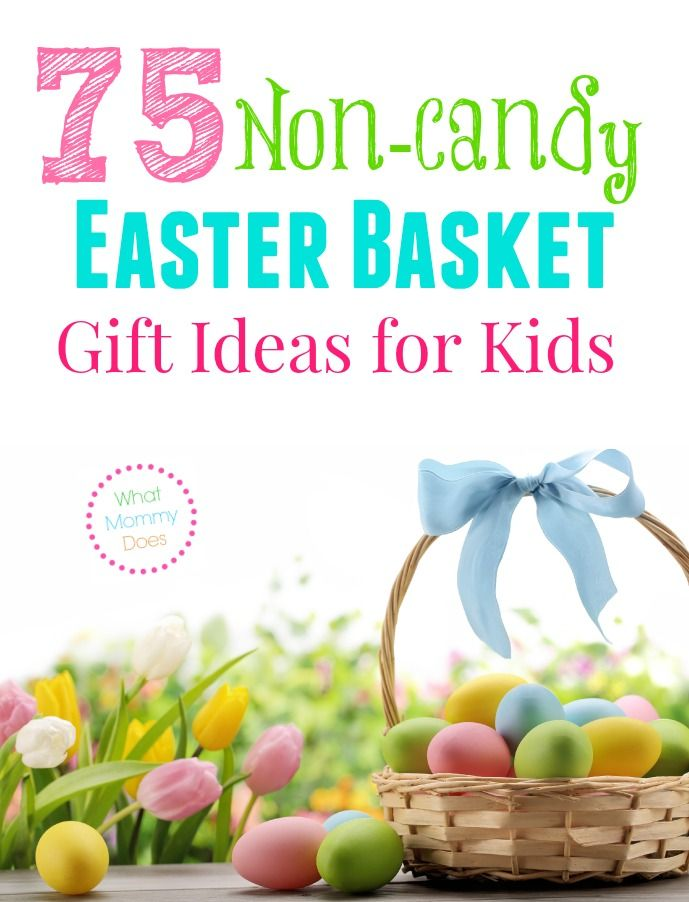 75 non candy easter basket gift ideas for kids basket gift 75 non candy easter basket gift ideas for kids negle Gallery