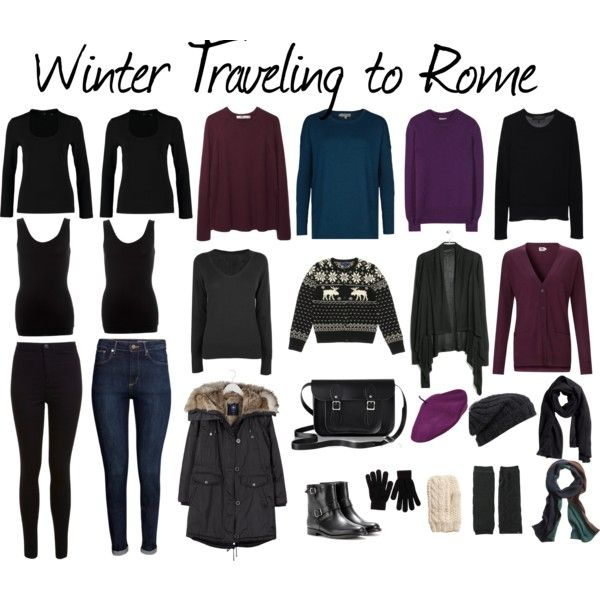 winter traveling to rome capsule wardrobe by angela otimo on polyvore featuring hobbs kin by. Black Bedroom Furniture Sets. Home Design Ideas