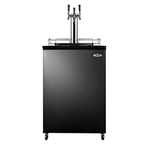 Summit Commercial Triple Tap Kegerator Products Tap System