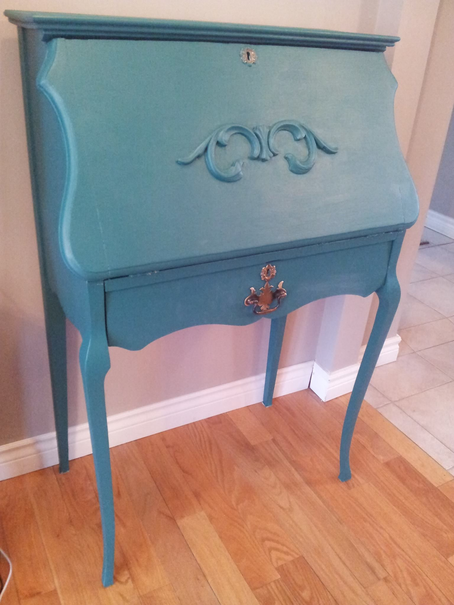 Kijiji Kitchener Furniture Refurbished Turquoise Desk Fusion Mineral Paint Renfrew Blue