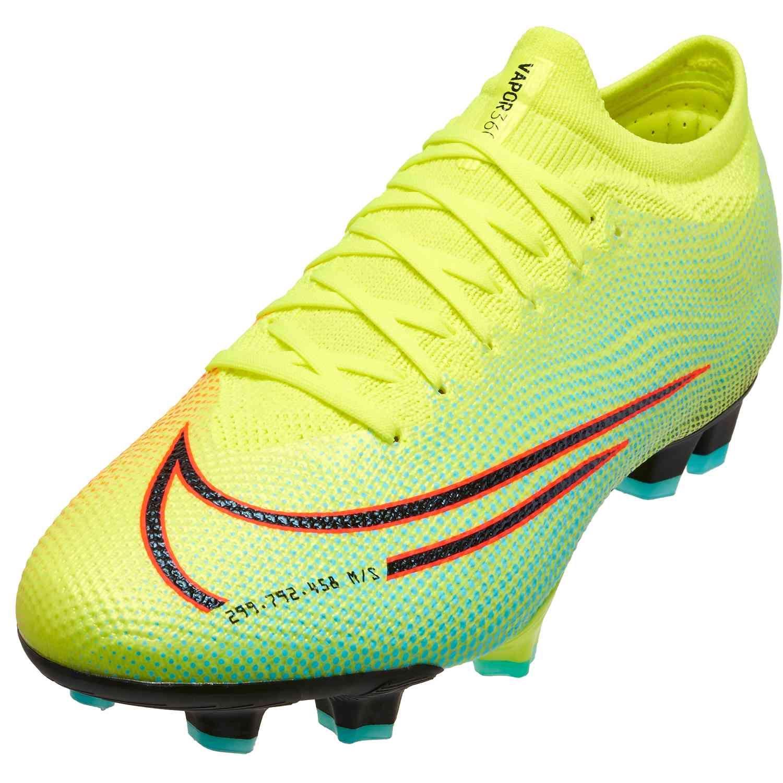 Nike Mds Mercurial Vapor 13 Pro Fg Lemon Venom Soccerpro In 2020 Nike Soccer Shoes Vapor