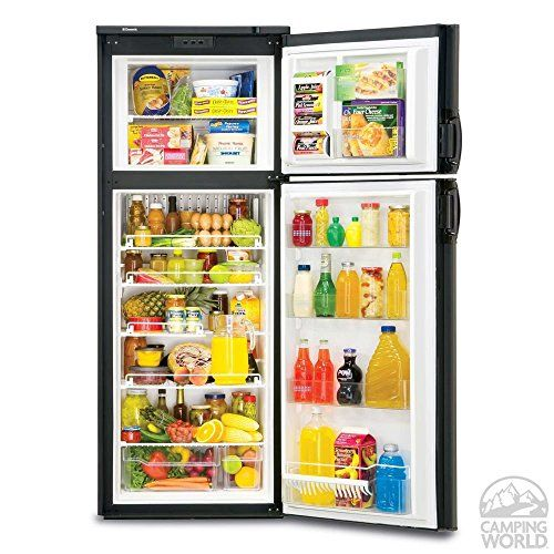 Dometic New Generation Rm3962 2 Way Refrigerator Double Door 9 0 Cu Ft With Images Refrigerator Rv Refrigerator Apartment Size Refrigerator