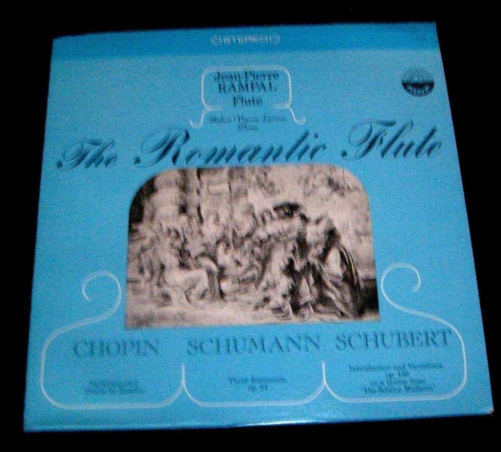 The Romantic Flute Lp Album Jean Pierre Rampal Vinyl Everest