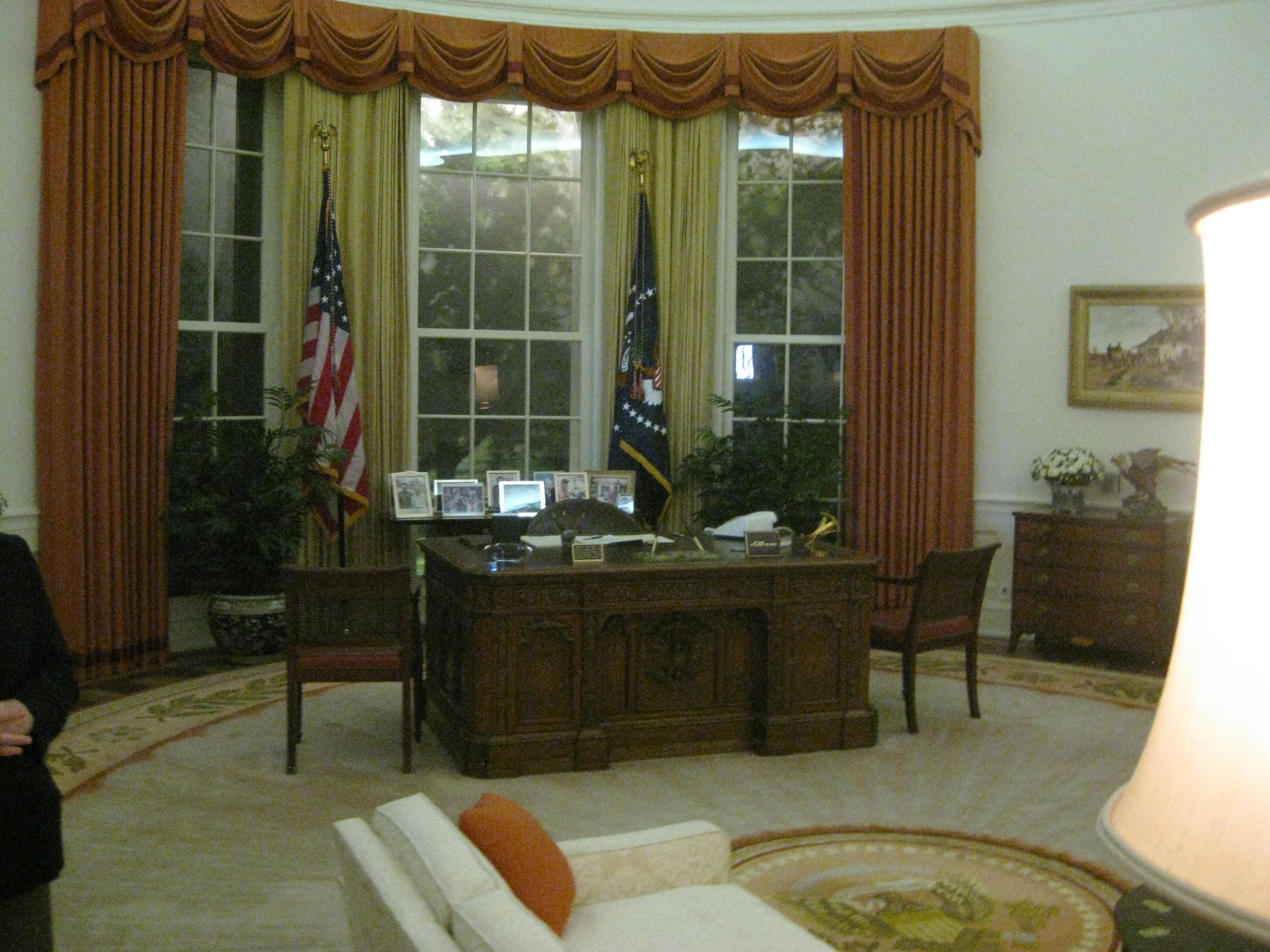 reagan oval office. Replica Oval Office At Reagan Library