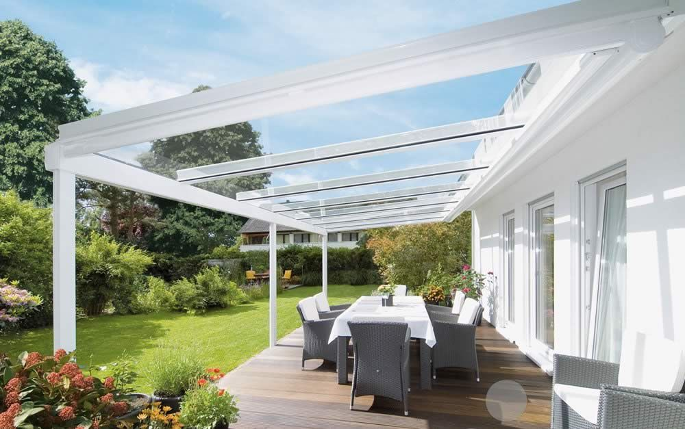 Add An Elegant Glass Veranda To Your Patio With The Weinor