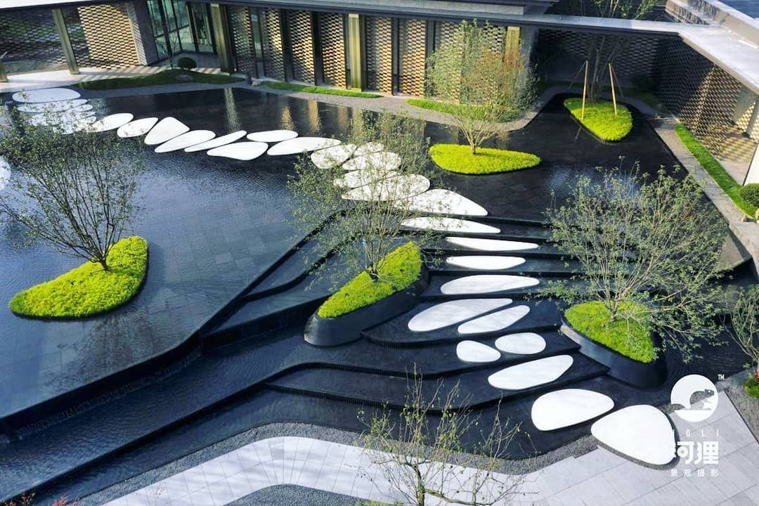 Contrast Inspiration Architect Landscape Exteriord Landscape Architecture Design Landscape Architecture Design Garden Waterscape Design