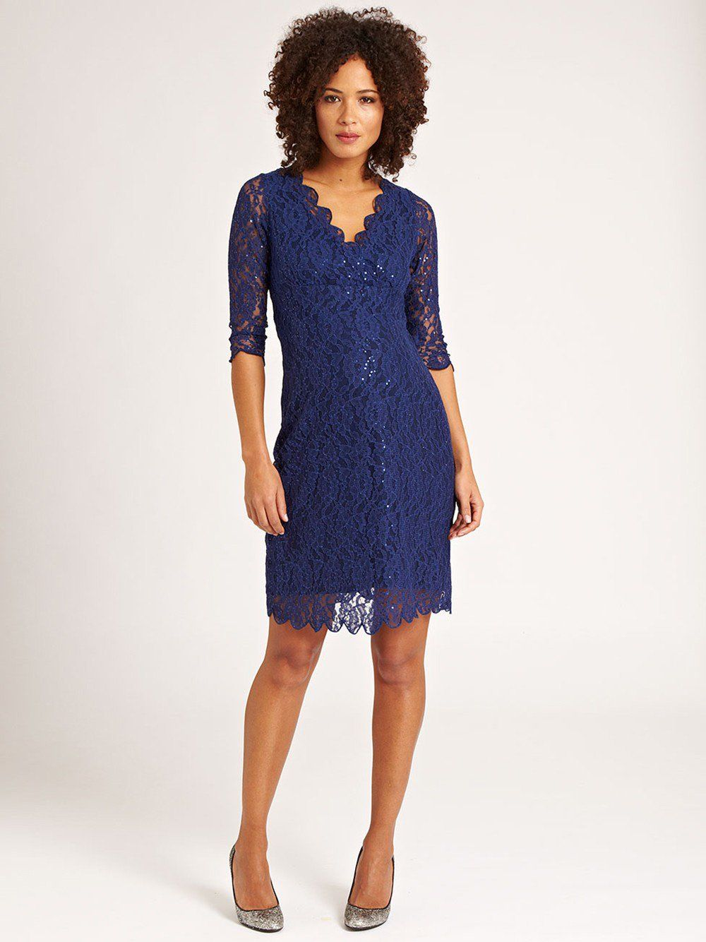 Navy lace maternity shift dress jojo maman bebe maternity a glamorous option for that special occasion the navy lace maternity shift dress makes a stunning style investment ombrellifo Image collections