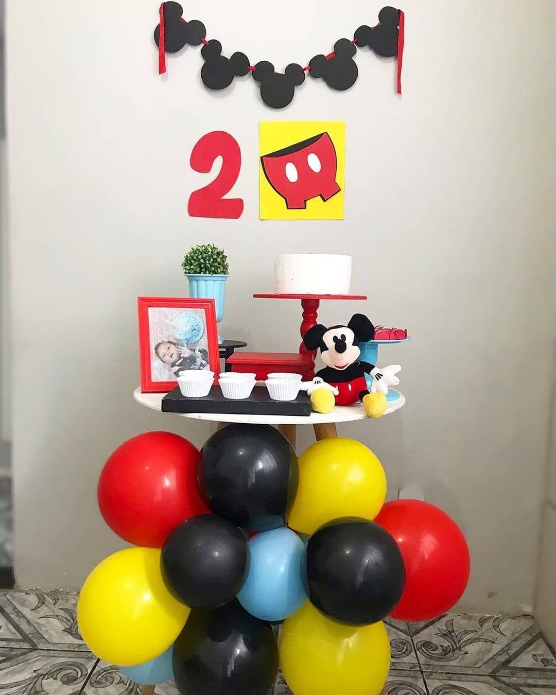 Ideas Para Fiesta En Casa Fiesta De Mickey Fiesta De Mickey Mouse Fiestas En Casa