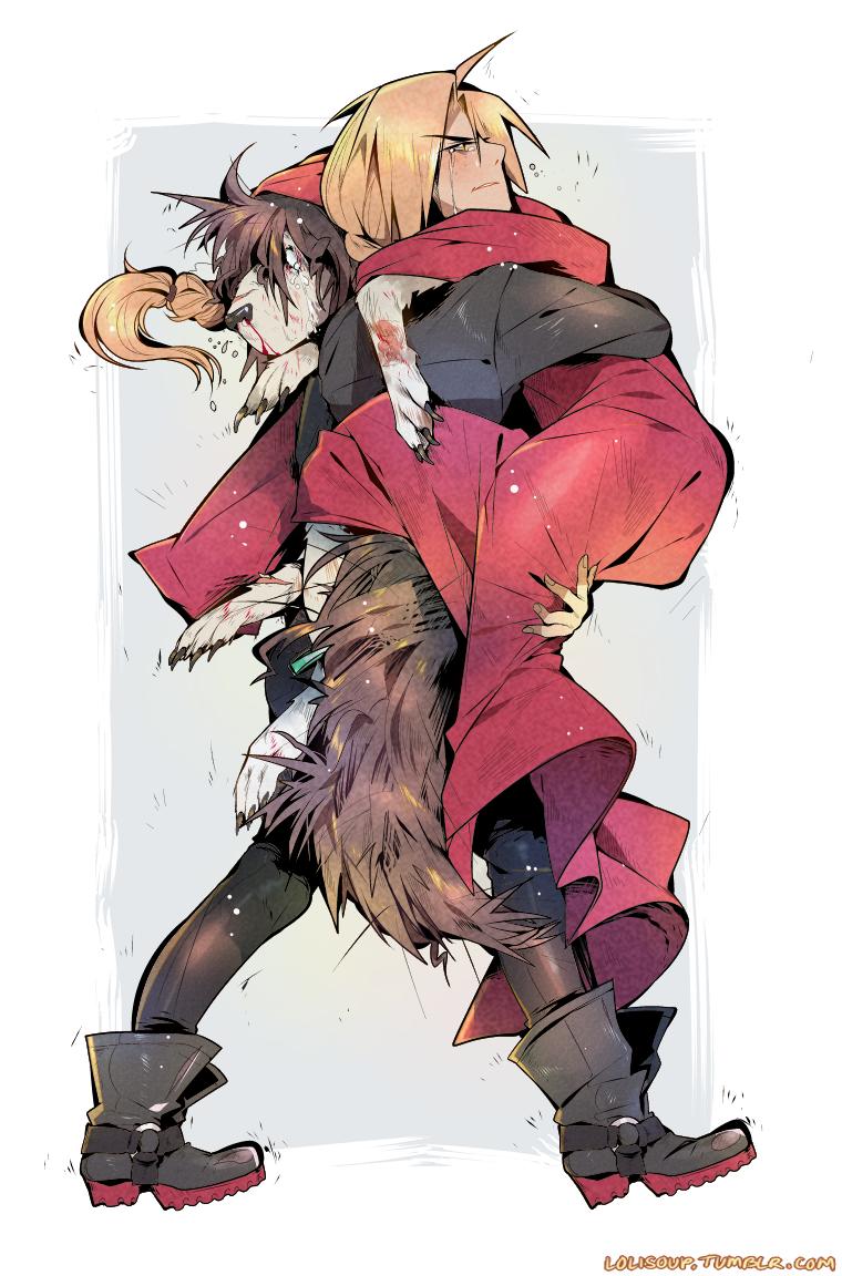 "Fullmetal Alchemist Nina Tucker lolisoup: "" familiar au: ""i'll make it better, nina. let's"