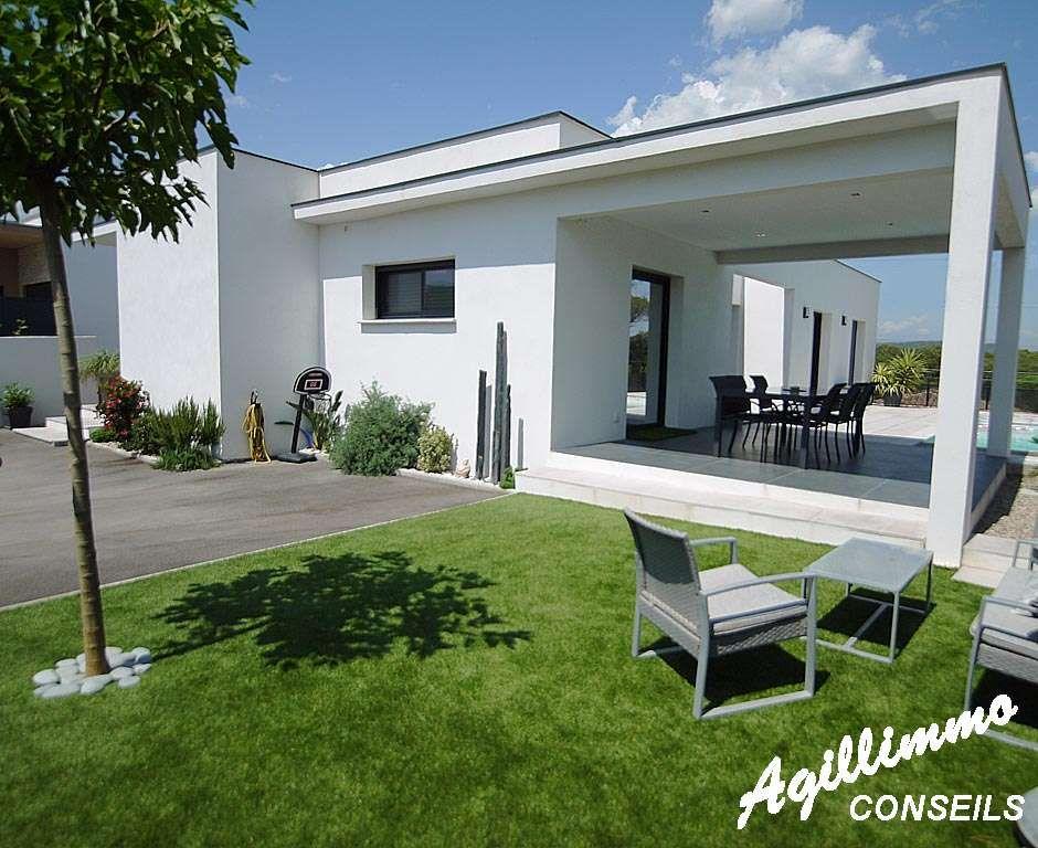 Vente maison moderne avec 2 logements puget sur argens for Modele villa contemporaine