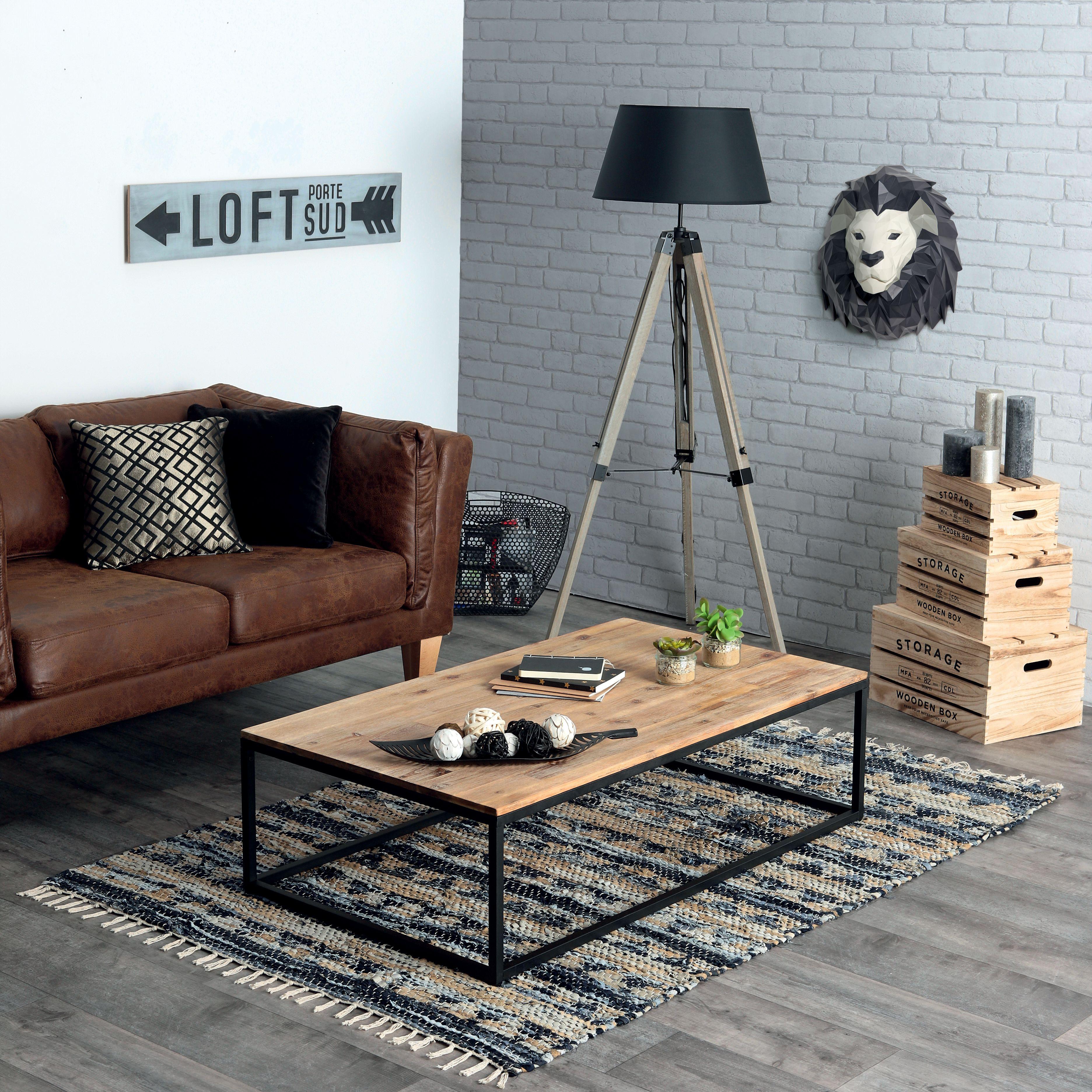 Mon salon Mon style industriel Pinterest